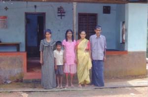 Rufina mit ihrer Familie