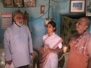 Monsignore Pinto, Sheetal und ihr Vater