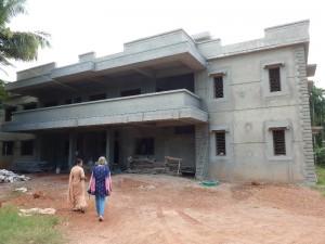 Der neue Erweiterungsbau für das Hospital