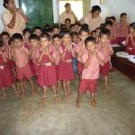Im Kindergarten von Manela