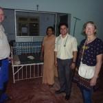 von links: Martin Thiele, Schwester Vanitha, Dr. Dian und Anne Rasche