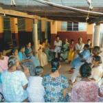 Beisammensein im St. Anne Haus für Frauen